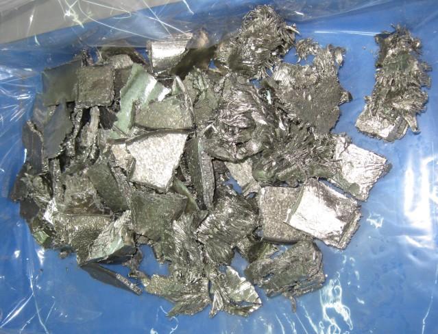 CAS NO 12060-08-1 Sc metal scandium metal scandium ingot